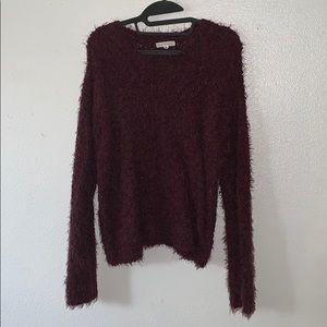 Burgundy Soft Sweater